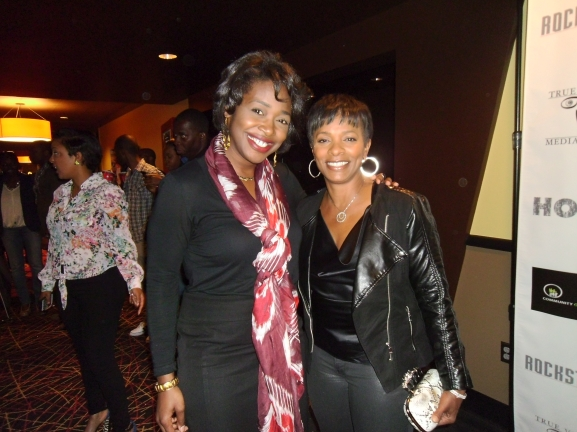 The talented Vanessa Bell Calloway with Erika Salter.